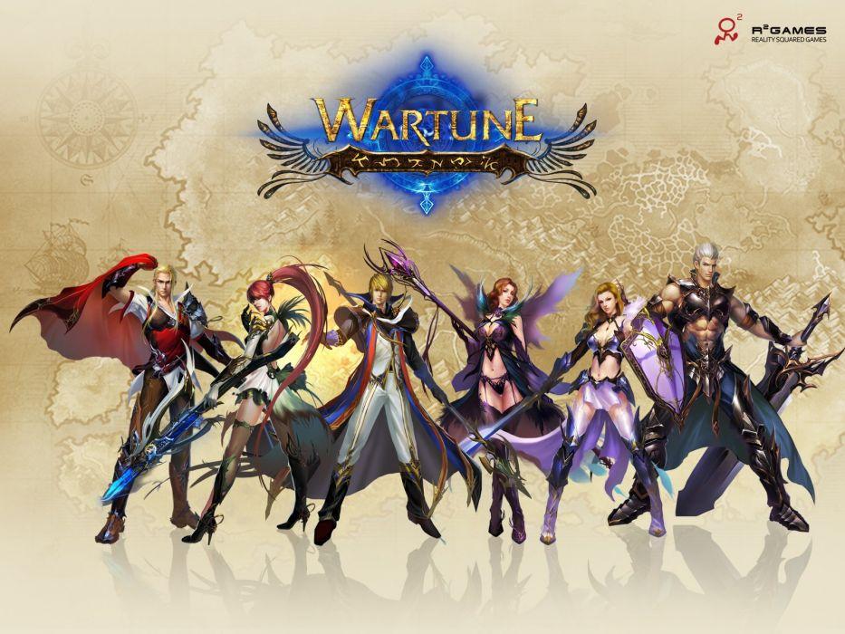 WARTUNE-ONLINE fantasy adventure mmo wartune online (6) wallpaper