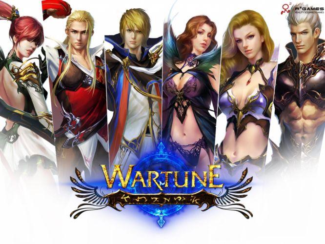 WARTUNE-ONLINE fantasy adventure mmo wartune online (5) wallpaper