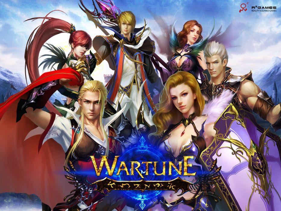 WARTUNE-ONLINE fantasy adventure mmo wartune online (16) wallpaper