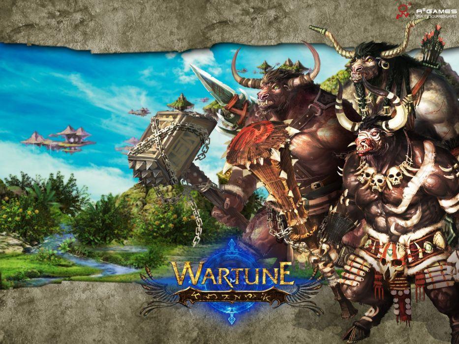 WARTUNE-ONLINE fantasy adventure mmo wartune online (15) wallpaper