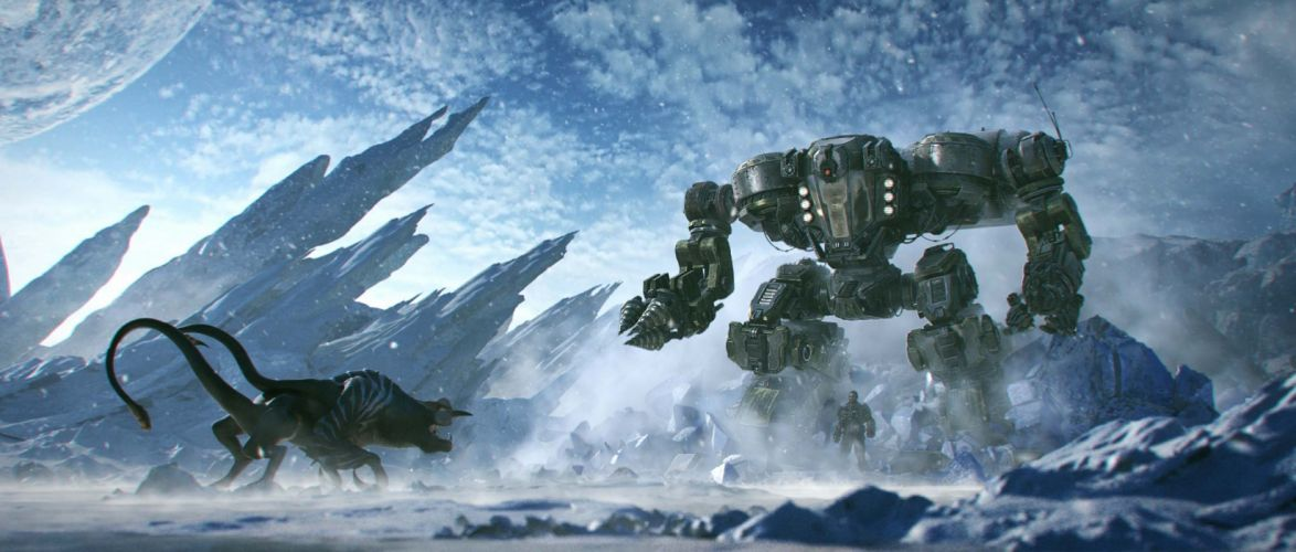 LOST-PLANET sci-fi action warrior lost planet armor (21) wallpaper