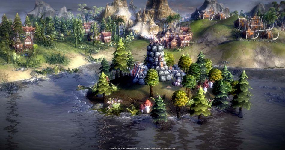 EADOR masters broken world fantasy adventure mmo game sci-fi online (5) wallpaper