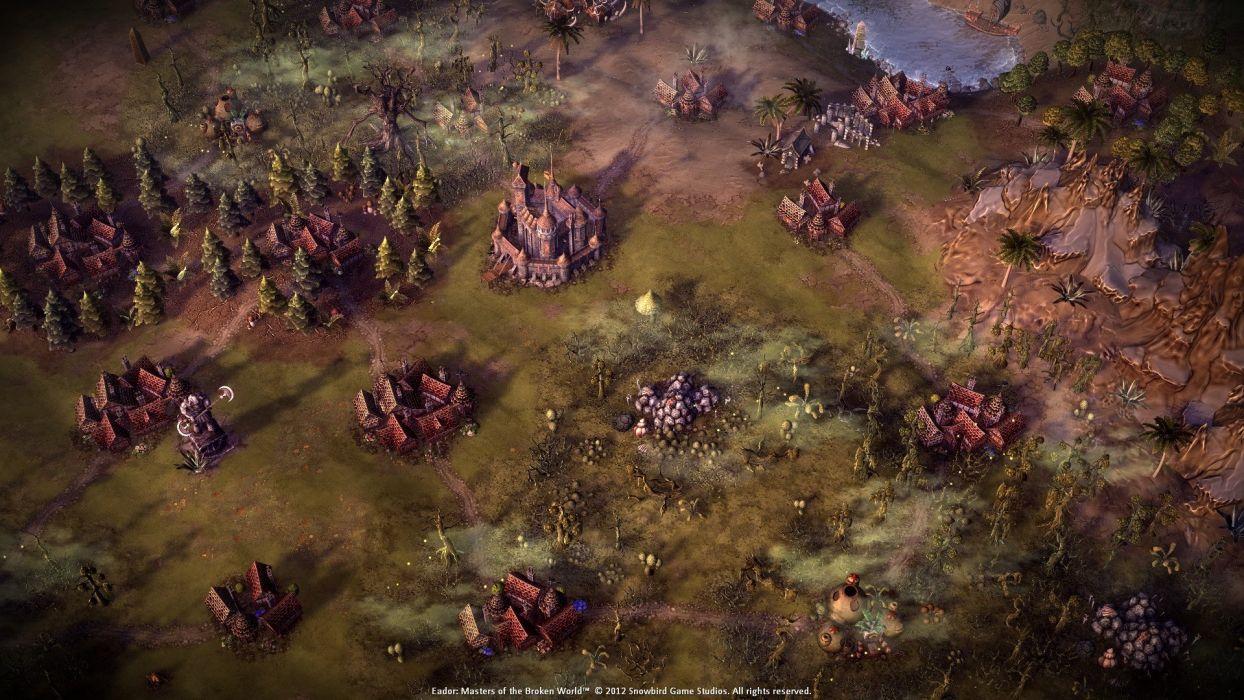 EADOR masters broken world fantasy adventure mmo game sci-fi online (3) wallpaper