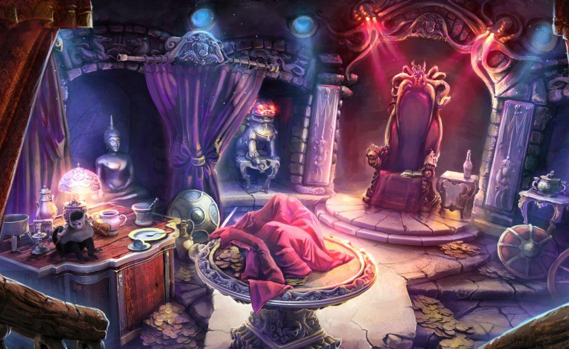NIGHTMARES-FROM-THE-DEEP fantasy adventure mmo online dark horror game nightmares deep pirate (5) wallpaper