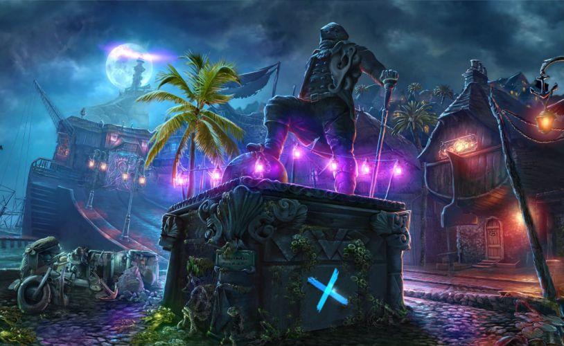 NIGHTMARES-FROM-THE-DEEP fantasy adventure mmo online dark horror game nightmares deep pirate (4) wallpaper