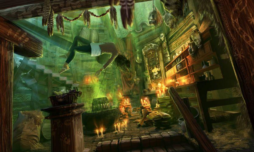 NIGHTMARES-FROM-THE-DEEP fantasy adventure mmo online dark horror game nightmares deep pirate (2) wallpaper