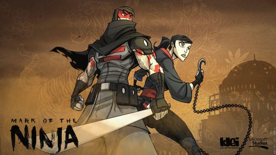 MARK-OF-THE-NINJA action mmo online mark ninja fantasy fighting warrior (1) wallpaper