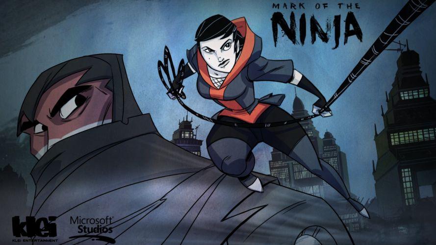 MARK-OF-THE-NINJA action mmo online mark ninja fantasy fighting warrior (5) wallpaper