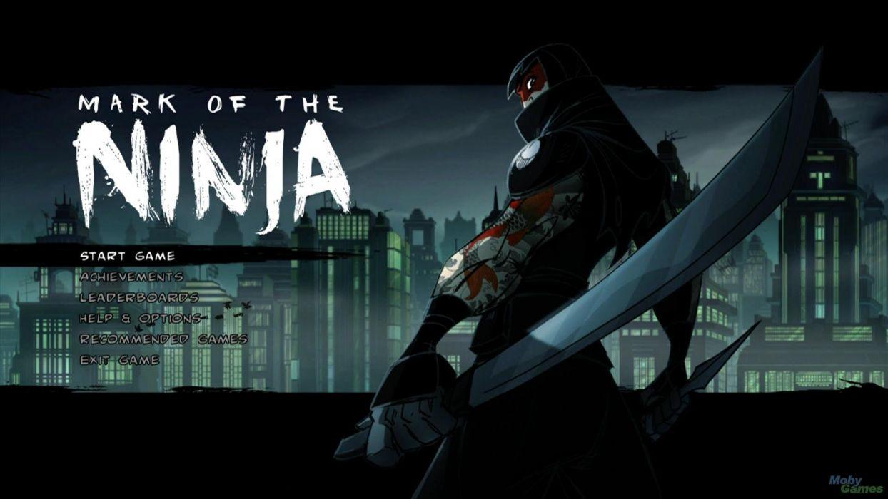 MARK-OF-THE-NINJA action mmo online mark ninja fantasy fighting warrior (10) wallpaper