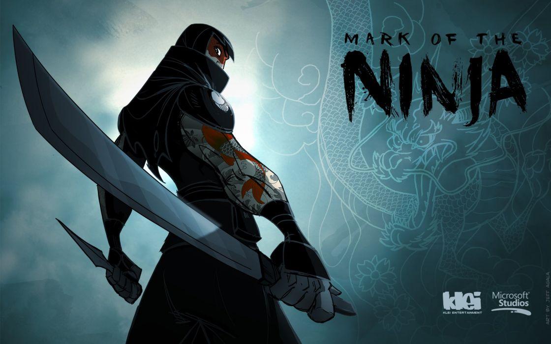 MARK-OF-THE-NINJA action mmo online mark ninja fantasy fighting warrior (9) wallpaper