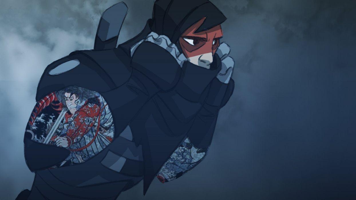 MARK-OF-THE-NINJA action mmo online mark ninja fantasy fighting warrior (22) wallpaper