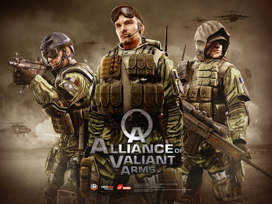 ALLIANCE-OF-VALIANT-ARMS shooter action warrior weapon onlone mmo alliance valiant arms (2) wallpaper