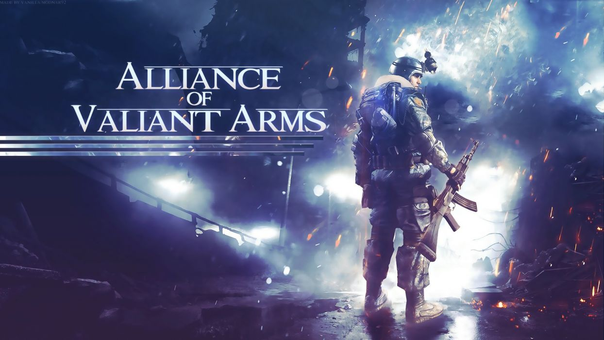 ALLIANCE-OF-VALIANT-ARMS shooter action warrior weapon online mmo alliance valiant arms (11) wallpaper