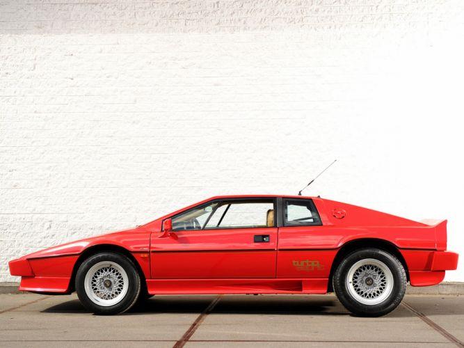 1980 red lotus esprit turbo supercar car sport wallpaper