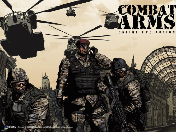 COMBAT-ARMS-ONLINE shooter action mmo warrior weapon military combat arms online (3) wallpaper