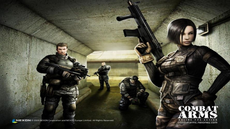 COMBAT-ARMS-ONLINE shooter action mmo warrior weapon military combat arms online (4) wallpaper