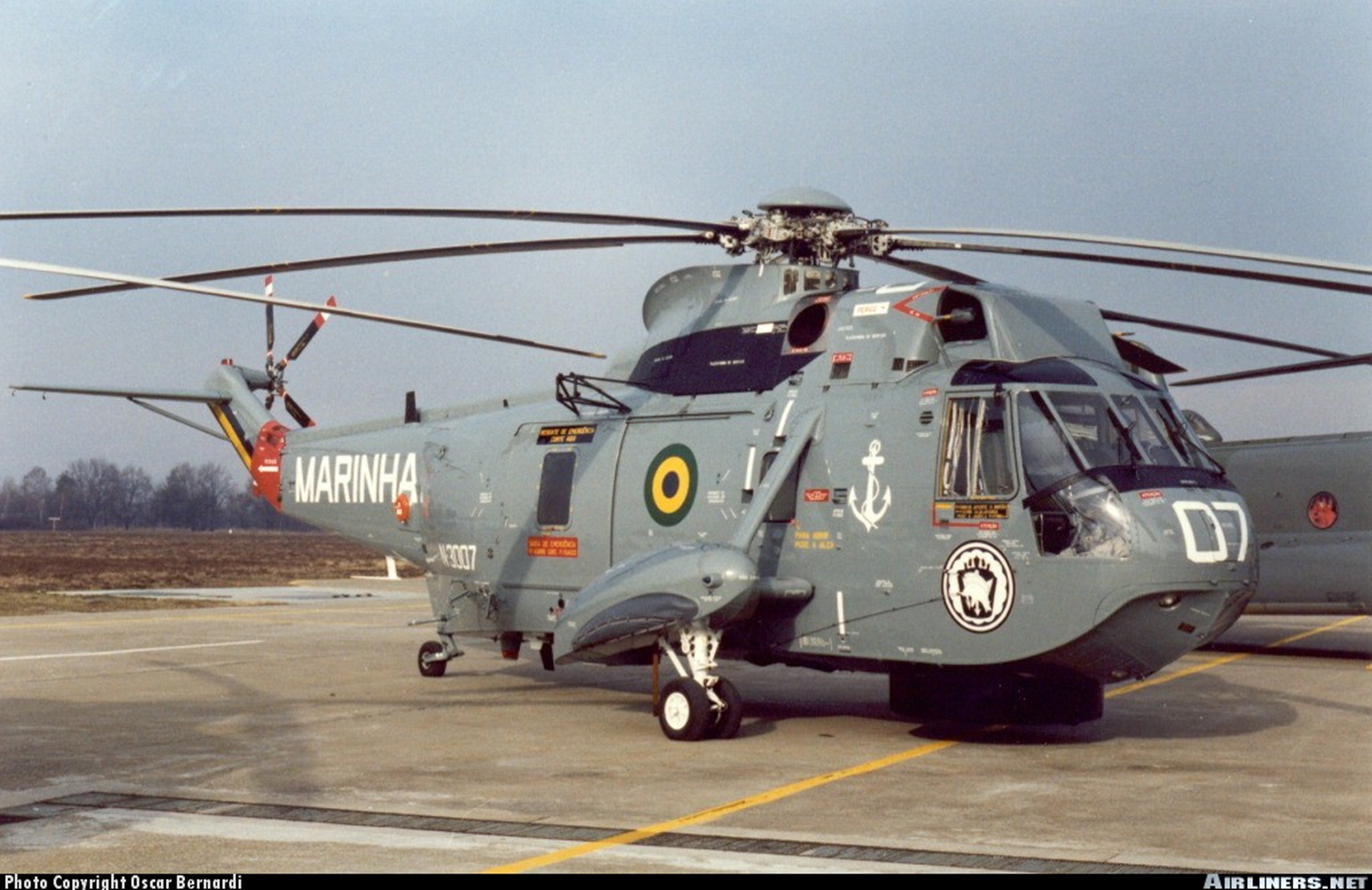 Helicopter aircraft Military Cargo Transport navy Brazil ...
