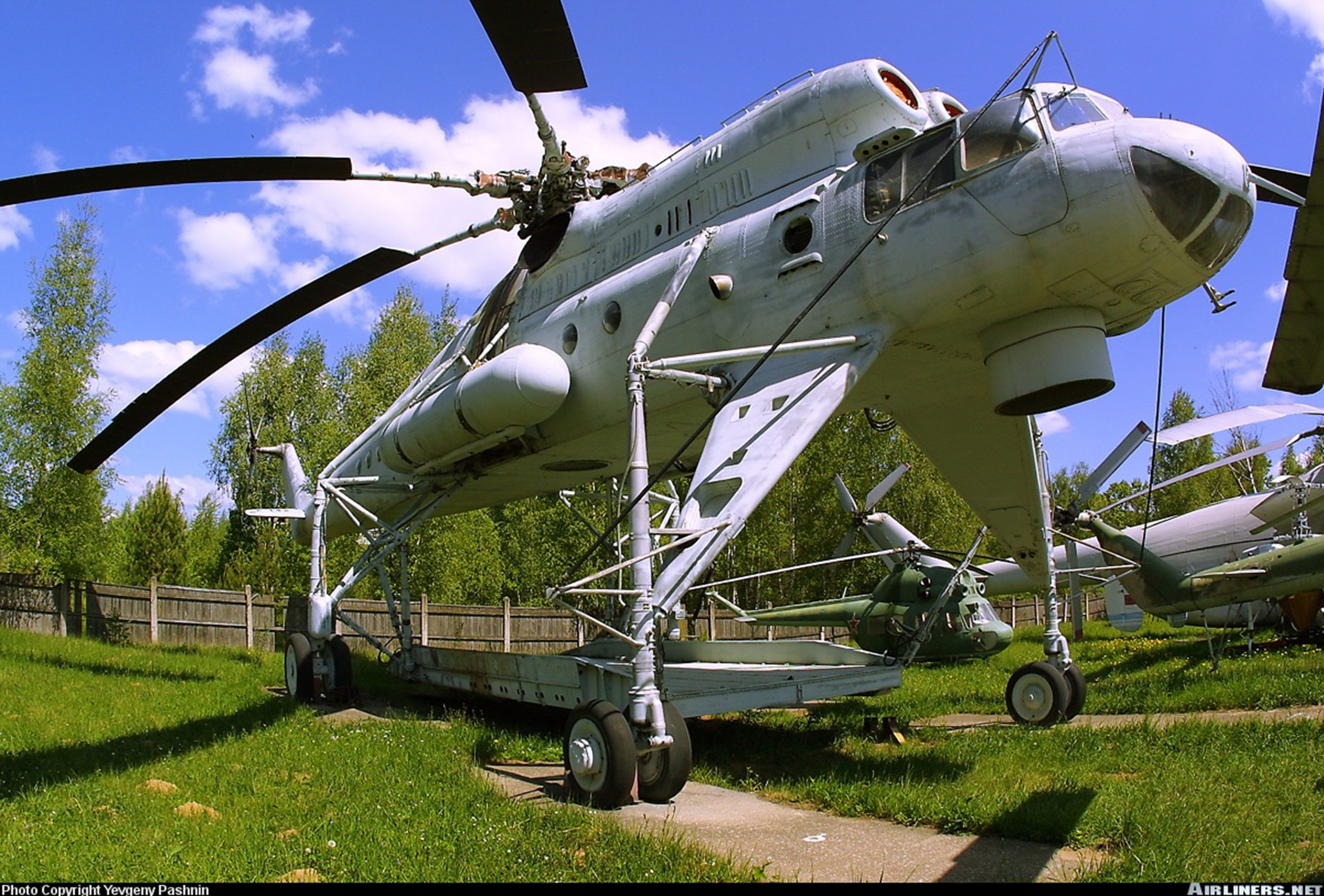 Russian helicopter aircraft Military Cargo Transport Mil ...