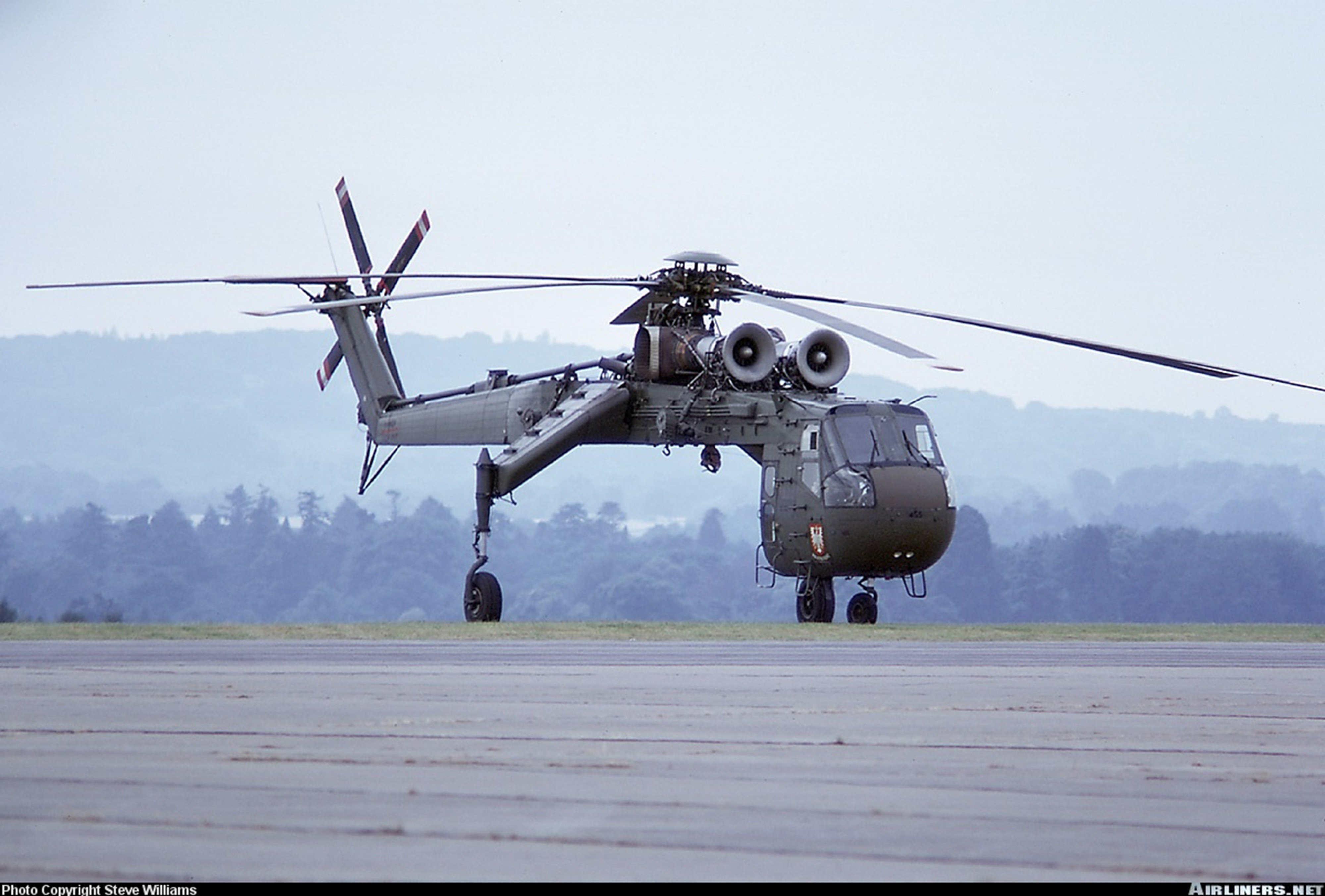 Helicopter aircraft Military Cargo Transport Poland ...