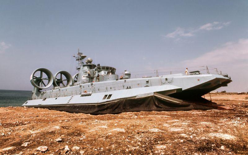 russian overcraft warship ship red star Russia wallpaper