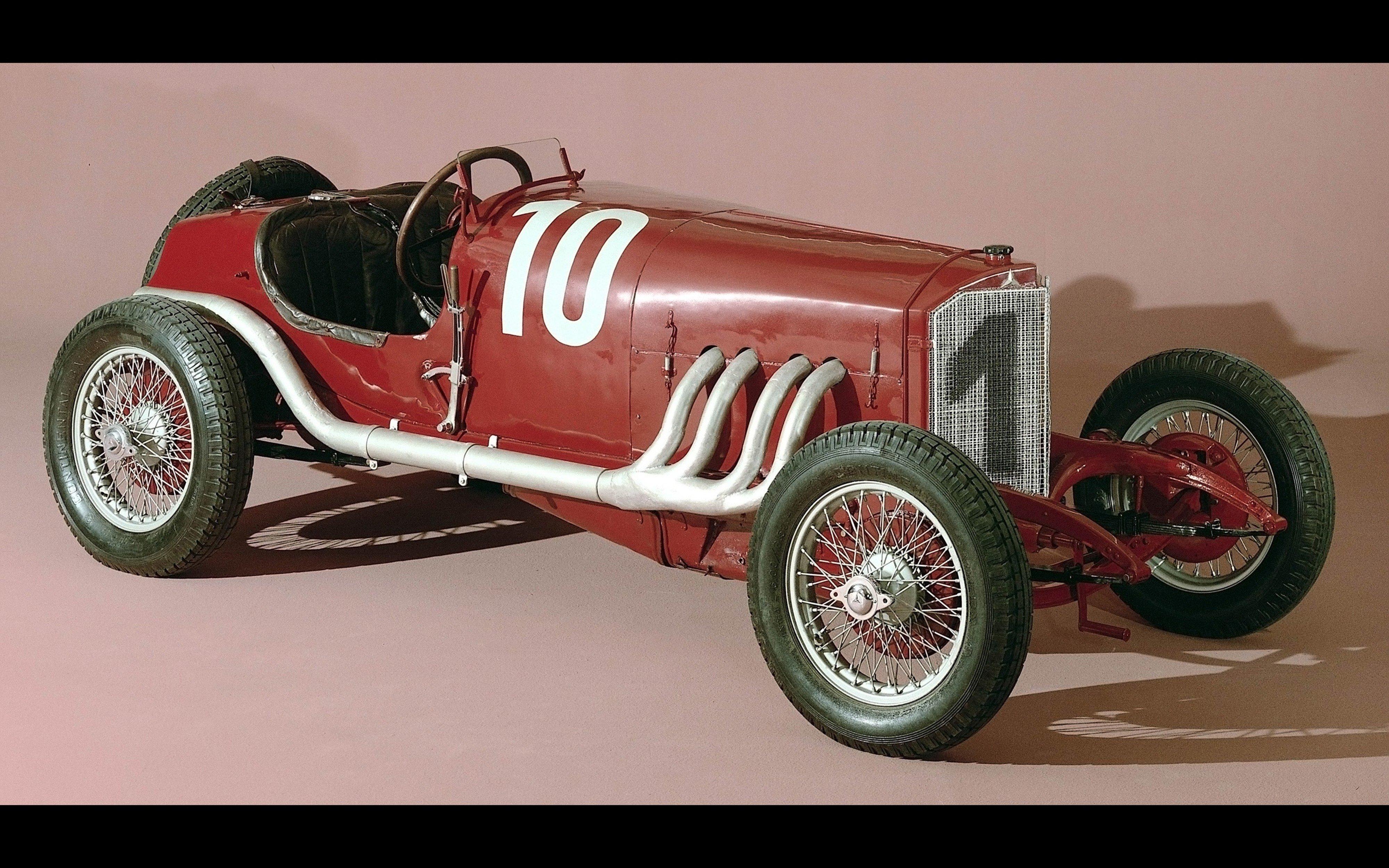 1924 mercedes benz targa florio race car racing retro for Mercedes benz race car