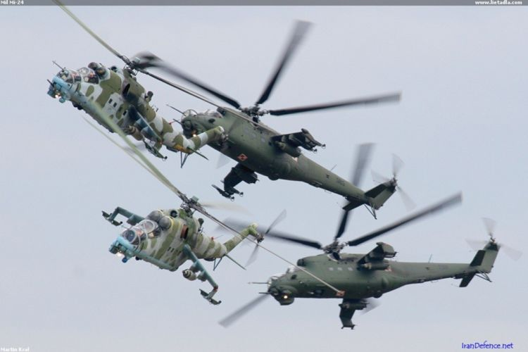 helicopter aircraft attack mil-mi military army Poland wallpaper