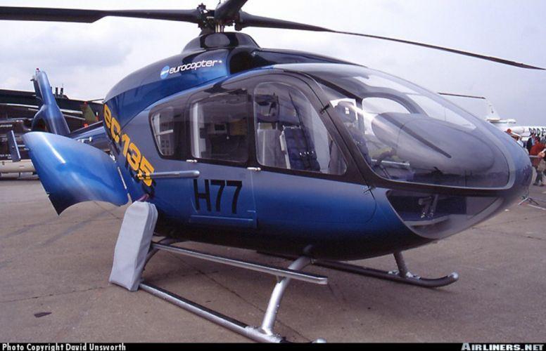 helicopter aircraft eurocopter ec-135 wallpaper