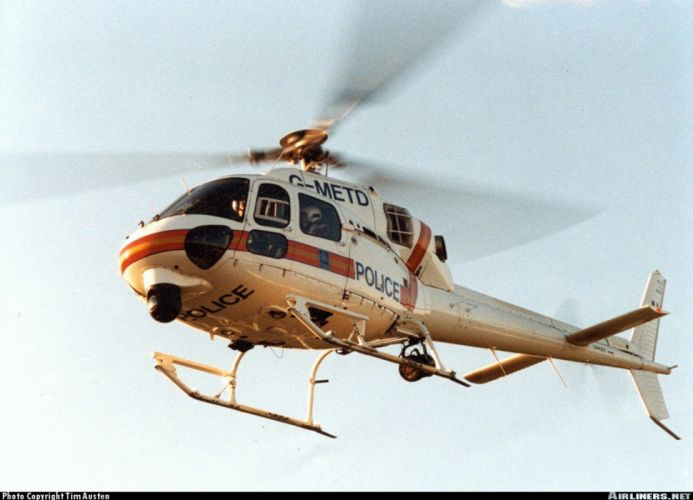 helicopter aircraft police Spain eurocopter wallpaper
