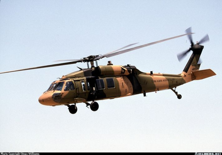 helicopter aircraft cargo transport military army Turkey wallpaper