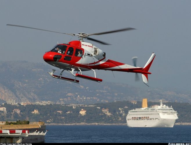 helicopter aircraft Monaco wallpaper