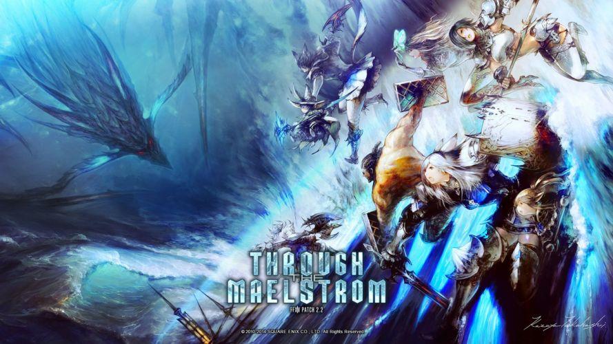 FINAL FANTASY XIV Realm Reborn game adventure online (7) wallpaper