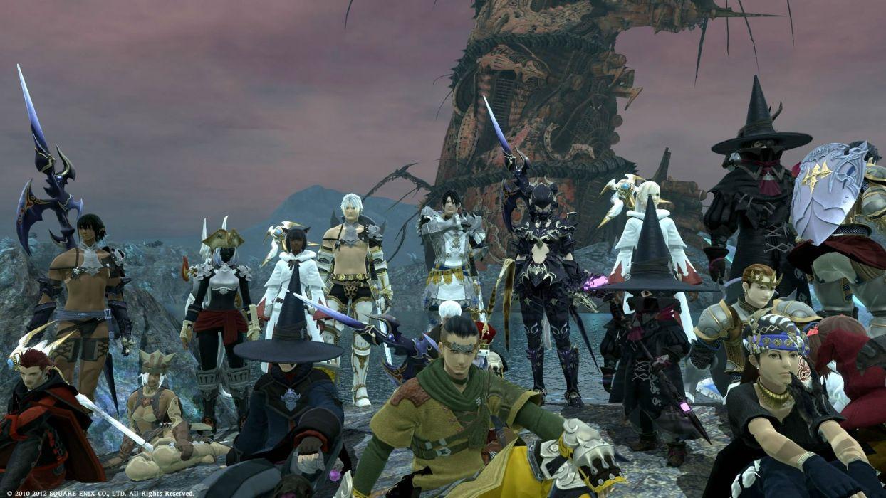 FINAL FANTASY XIV Realm Reborn game adventure online (6) wallpaper