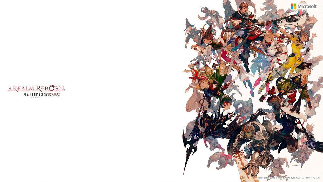 FINAL FANTASY XIV Realm Reborn game adventure online (4) wallpaper