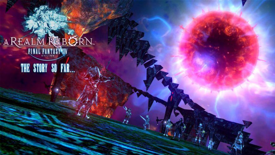 FINAL FANTASY XIV Realm Reborn game adventure online (29) wallpaper