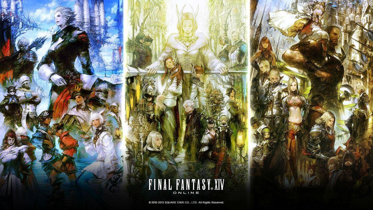 Final Fantasy Xiv Realm Reborn Game Adventure Online 37