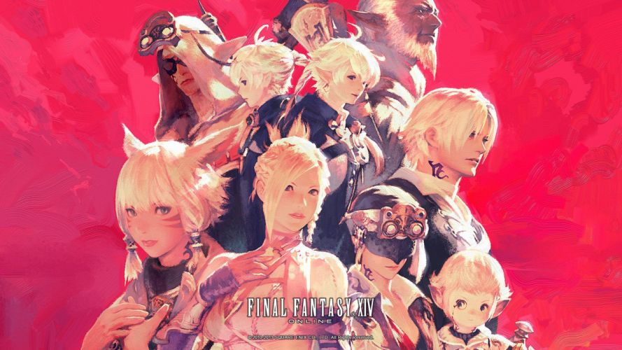 FINAL FANTASY XIV Realm Reborn game adventure online (39) wallpaper