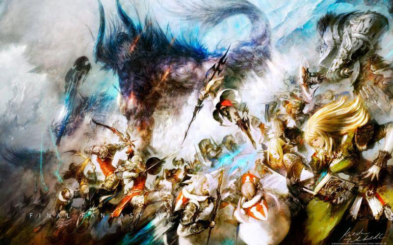 FINAL FANTASY XIV Realm Reborn game adventure online (75) wallpaper