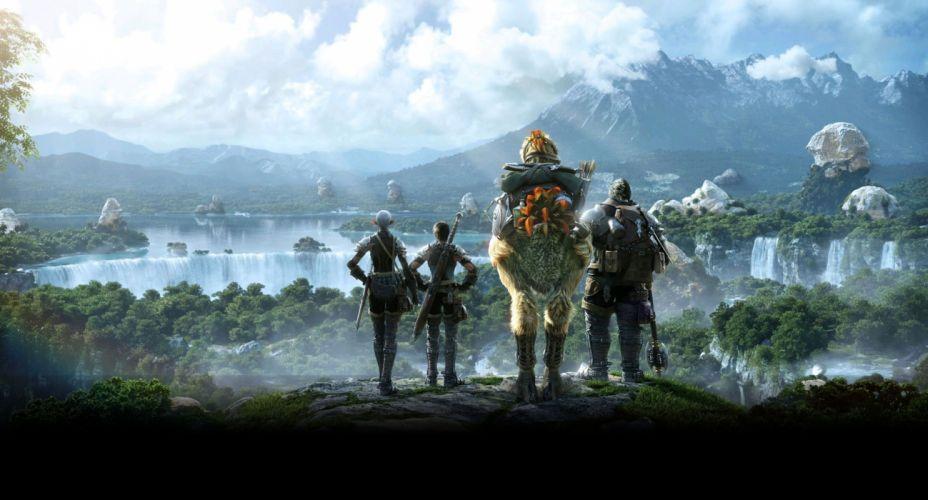 FINAL FANTASY XIV Realm Reborn game adventure online (69) wallpaper