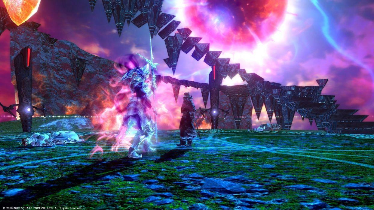 FINAL FANTASY XIV Realm Reborn game adventure online (80) wallpaper