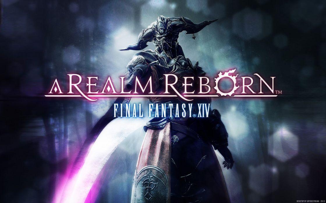 FINAL FANTASY XIV Realm Reborn game adventure online (106) wallpaper