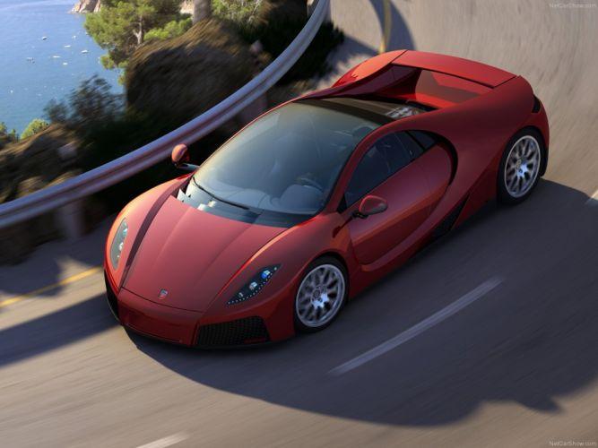 GTA Spano 2013 supercar car sport red 4000x3000 wallpaper