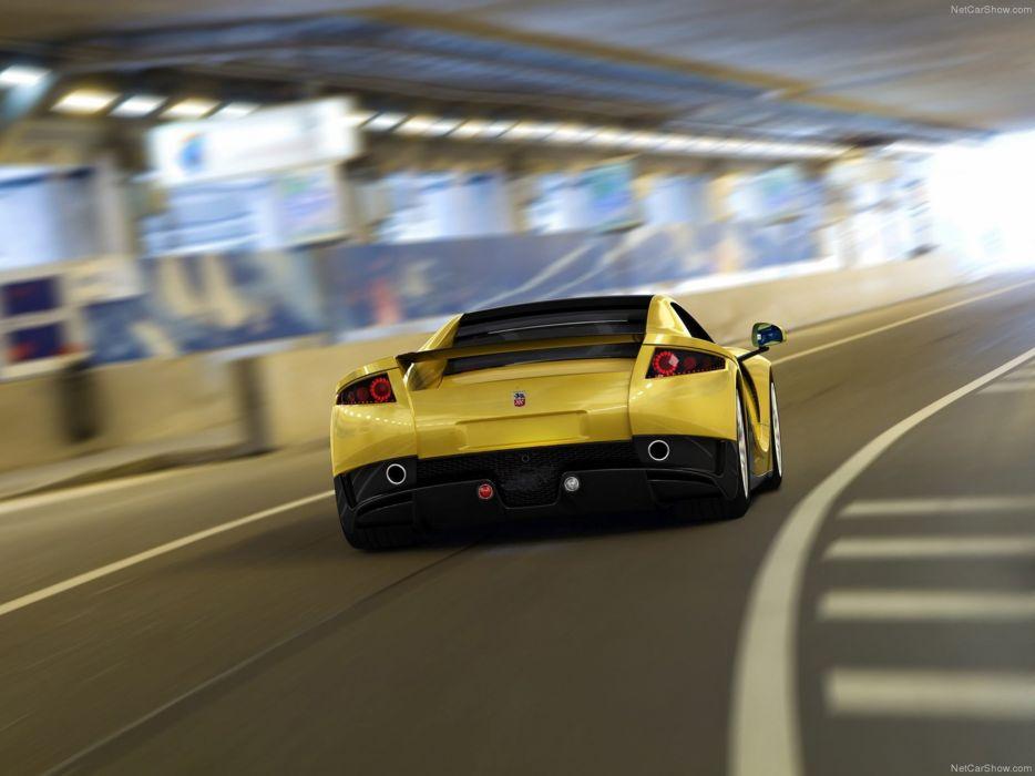 GTA Spano 2013 supercar car sport tunnel 4000x3000 wallpaper