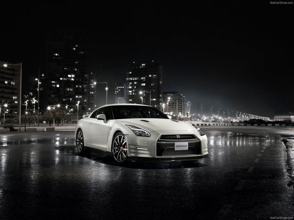 Nissan GT-R 2015 supercar car godzilar night city wallpaper 03 4000x3000 wallpaper