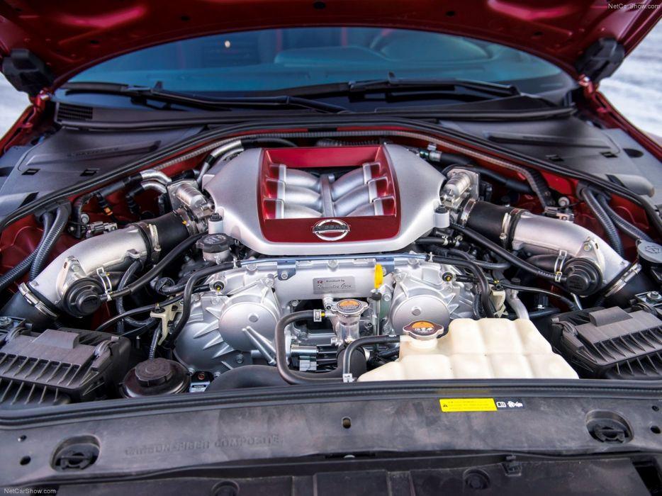 Nissan GT-R 2015 supercar car godzilar engine 4000x3000 wallpaper