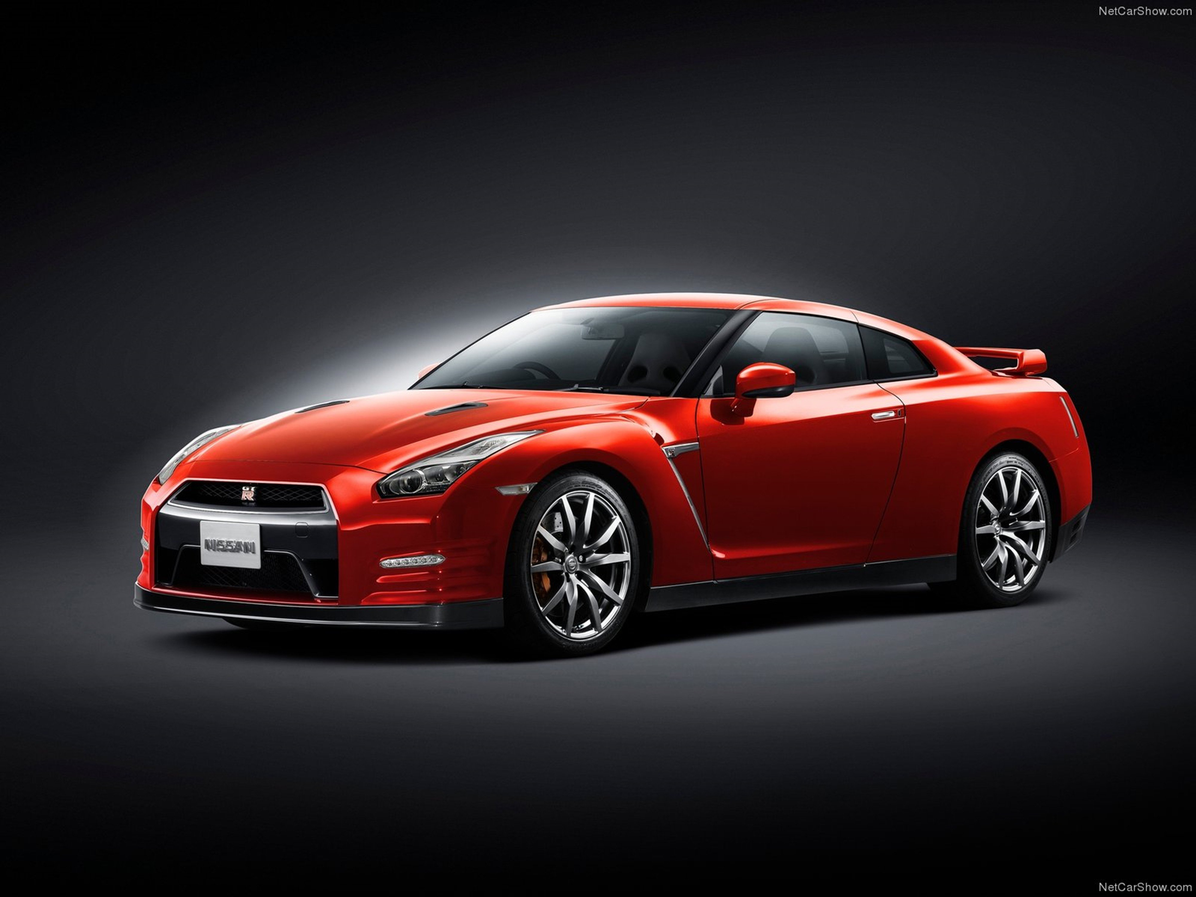 cars nissan red gtr - photo #16