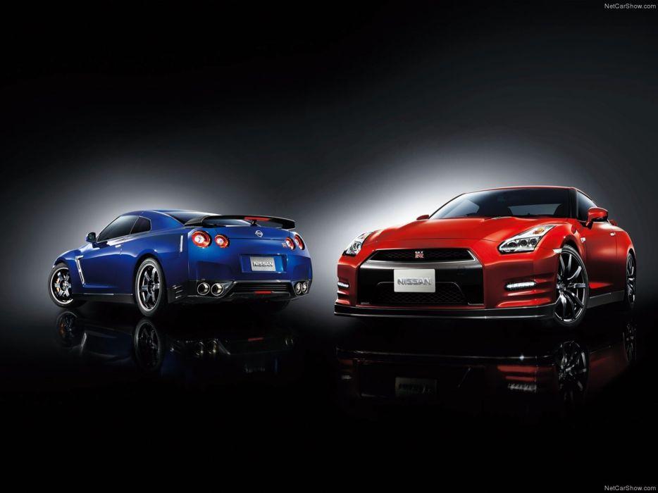 Nissan GT-R 2015 supercar car godzilar twin 4000x3000 wallpaper