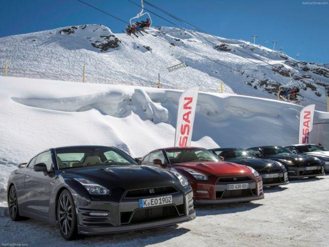 Nissan GT-R 2015 supercar car godzilar snow wallpaper 47 4000x3000 wallpaper