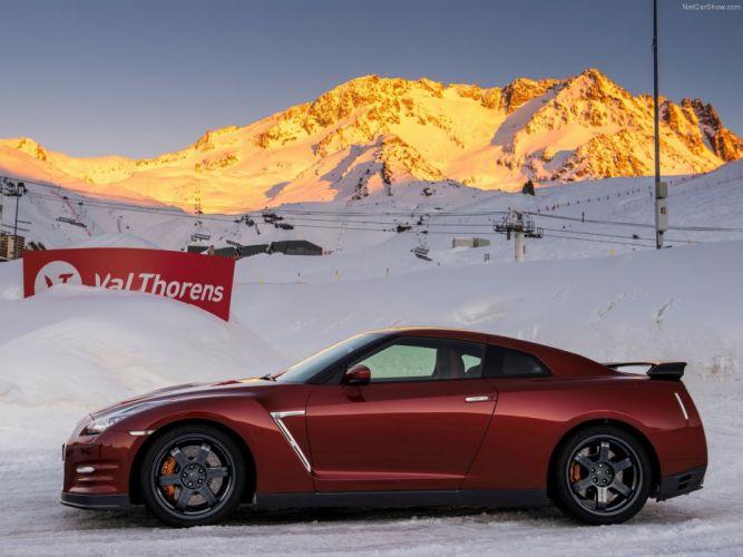 Nissan GT-R 2015 supercar car godzilar snow wallpaper 25 4000x3000 wallpaper