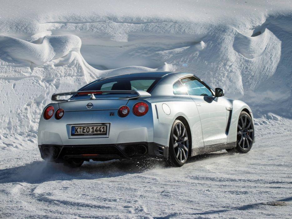 Nissan GT-R 2015 supercar car godzilar snow wallpaper 29 4000x3000 wallpaper