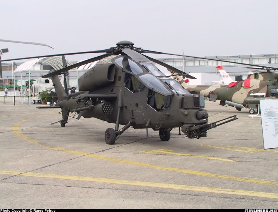 helicopter aircraft military army attack italy agusta a-129 mangusta wallpaper